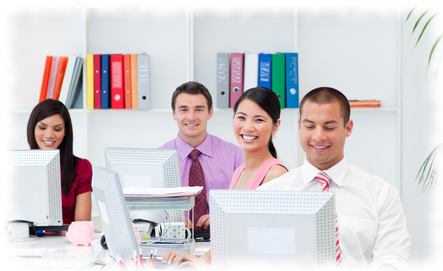 IT Support small business network-happy-team2