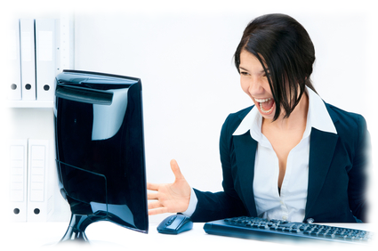 IT Support small business services-woman-screaming2